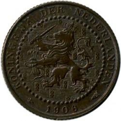 Moneta > 1centesimo, 1902-1907 - Paesi Bassi  - obverse