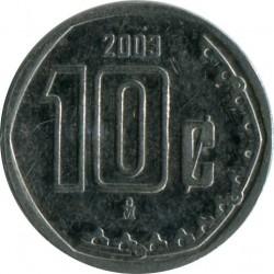 Moneta > 10centavos, 2003 - Messico  - reverse