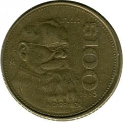 Coin > 100pesos, 1985 - Mexico  - obverse