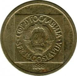 Moneda > 10dinares, 1988-1989 - Yugoslavia  - obverse