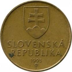 Moneta > 1korona, 1993-2008 - Słowacja  - obverse