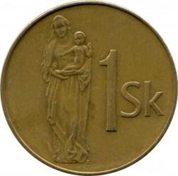 Moneta > 1korona, 1993-2008 - Słowacja  - reverse