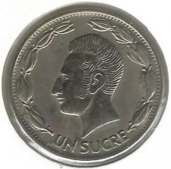 錢幣 > 1蘇克雷, 1985 - 厄瓜多  - reverse