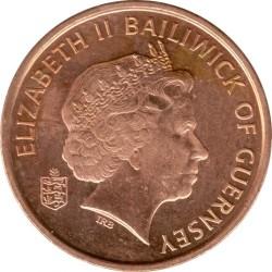 Münze > 1Penny, 1998-2012 - Guernsey  - obverse
