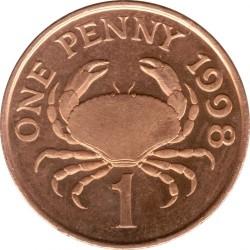 Münze > 1Penny, 1998-2012 - Guernsey  - reverse