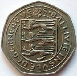 Münze > 50NewPence, 1969-1971 - Guernsey  - obverse