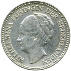 Monedă > ½gulden, 1921-1930 - Regatul Țărilor de Jos  - obverse