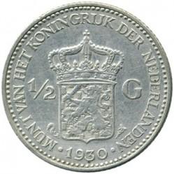 Монета > ½гульдена, 1921-1930 - Нидерланды  - reverse