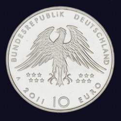 Moneda > 10euro, 2011 - Alemanya  (150è aniversari - Descoriment del Archaeopteryx) - obverse