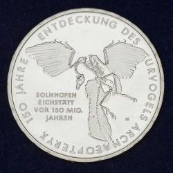 Moneda > 10euro, 2011 - Alemanya  (150è aniversari - Descoriment del Archaeopteryx) - reverse