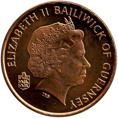 2 Pence 1999 2012 Guernsey Münzen Wert Ucoinnet