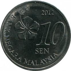 Coin > 10sen, 2011-2019 - Malaysia  - obverse