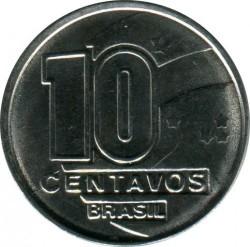 Monedă > 10centavo, 1989-1990 - Brazilia  - obverse
