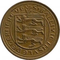 Moneta > 1naujasispensas, 1971 - Gernsis  - obverse
