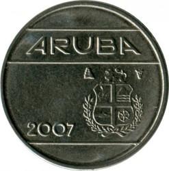 Moneta > 10centų, 2007 - Aruba  - obverse