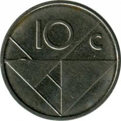 Moneta > 10centų, 2007 - Aruba  - reverse
