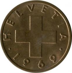 錢幣 > 2拉彭, 1948-1974 - 瑞士  - obverse
