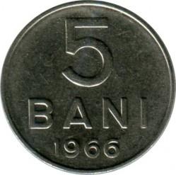 Монета > 5бани, 1966 - Румъния  - obverse