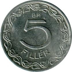 Монета > 5філерів, 1953-1989 - Угорщина  - reverse
