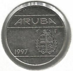 Moneta > 10centų, 1997 - Aruba  - obverse