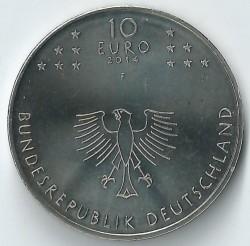 سکه > 10یورو, 2014 - آلمان  (600th Anniversary - Council of Constance) - obverse