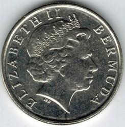 Moeda > 10cêntimos, 1999-2009 - Bermudas  - obverse
