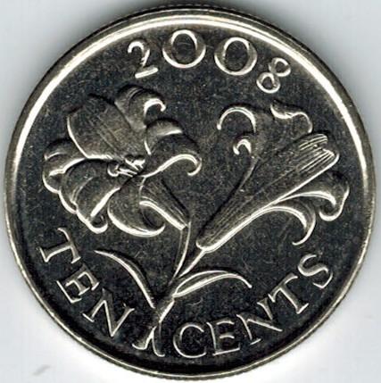 10 Cent 1999 2009 Bermuda Münzen Wert Ucoinnet