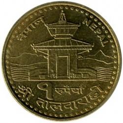 Moneta > 1rupija, 2005 - Nepalas  - reverse