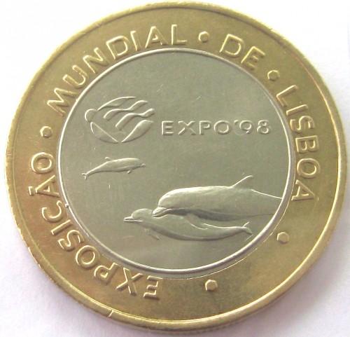 PORTUGAL 200 Escudos 1997  Lisbon World Expo /'98 KM#694 A6