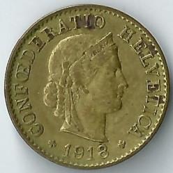 العملة > 5رابن, 1918 - سويسرا  - obverse