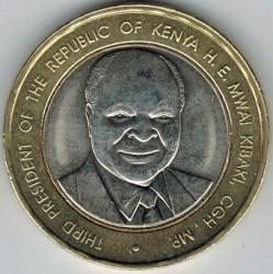 Монета > 40шиллингов, 2003 - Кения  (40 лет Независимости) - reverse