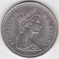 Moneta > 50centesimi, 1978-1989 - Canada  - obverse