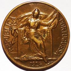 Mynt > 1escudo, 1924-1926 - Portugal  - obverse
