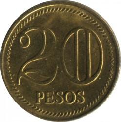 Minca > 20pesos, 2004-2008 - Kolumbia  - reverse