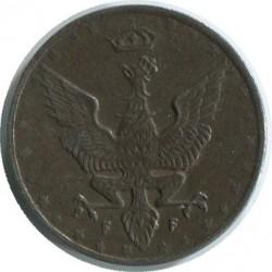 Monedă > 20fenigi, 1917-1918 - Polonia  - obverse