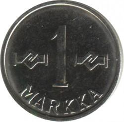 Münze > 1Mark, 1962 - Finnland  - reverse