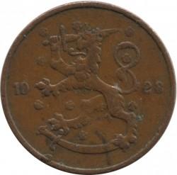 Münze > 5Penny, 1928 - Finnland  - reverse