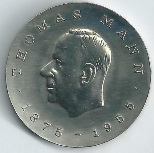 5 Mark 1975 Thomas Mann Deutschland Ddr Münzen Wert Ucoinnet