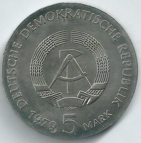 5 Mark 1979 Albert Einstein Deutschland Ddr Münzen Wert