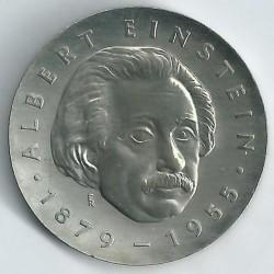 Moneda > 5marcos, 1979 - Alemania - RDA  (100º Aniversario - Nacimiento de Albert Einstein) - reverse