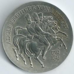 Moneda > 5marcos, 1984 - Alemania - RDA  (150º Aniversario - Muerte de Ludwig Adolf Wilhelm von Lützow) - reverse