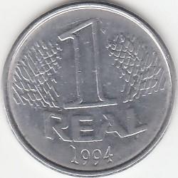 Monedă > 1real, 1994 - Brazilia  - reverse