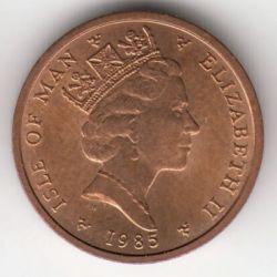 Moneta > ½penny, 1985 - Isola di Man  - obverse