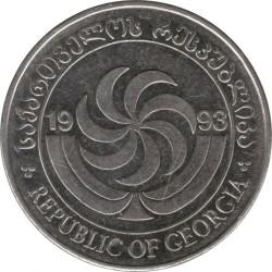 سکه > 20تتری, 1993 - گرجستان  - obverse