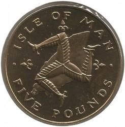 Монета > 5фунтов, 1981-1984 - Остров Мэн  - reverse