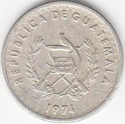 Монета > 5сентаво, 1971-1977 - Гватемала  - obverse