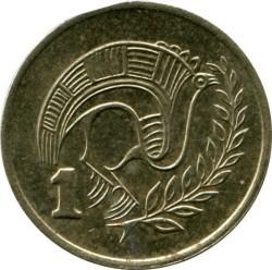 Pièce > 1cent, 1983 - Chypre  - reverse