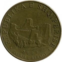 Moneda > 10lekë, 2009 - Albania  - obverse