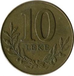 Moneda > 10lekë, 2009 - Albania  - reverse