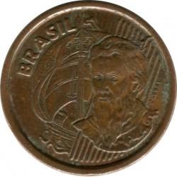 Moneta > 1centavo, 1998-2004 - Brazylia  - obverse